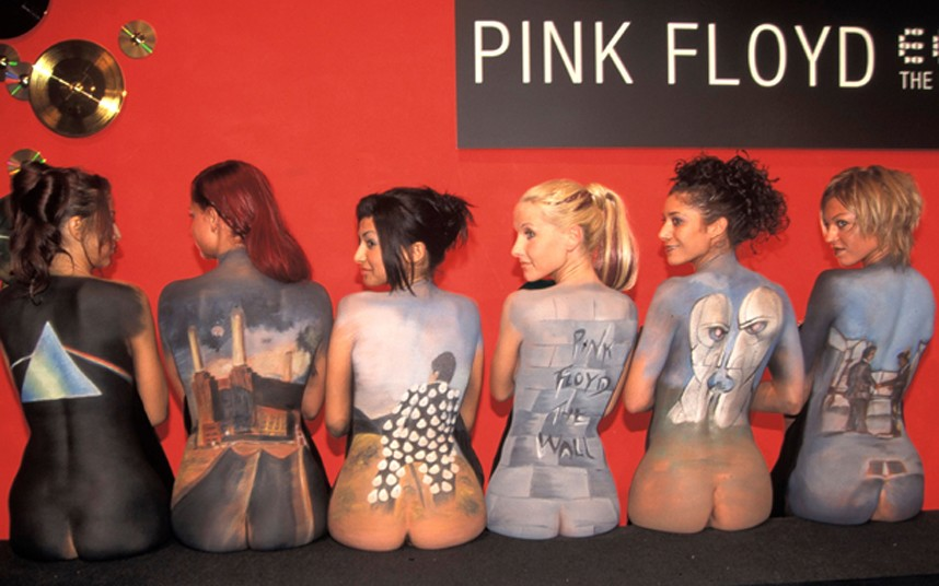 floyd girls nude Pink