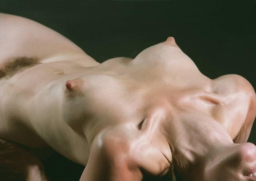 female study Nude body