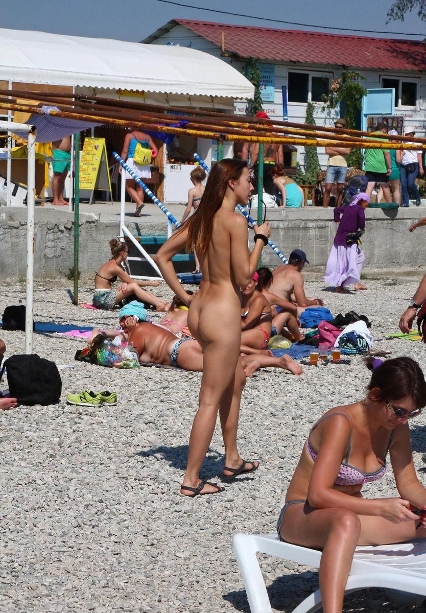 beaches Public nude