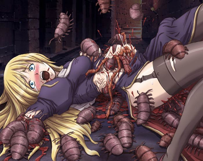 porn Horror monster