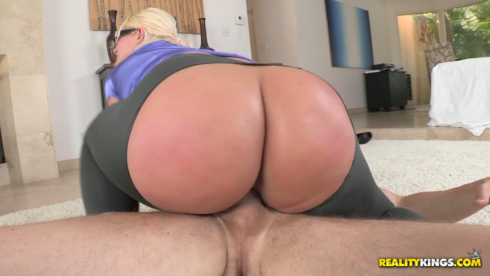 ass big Julie blonde cash