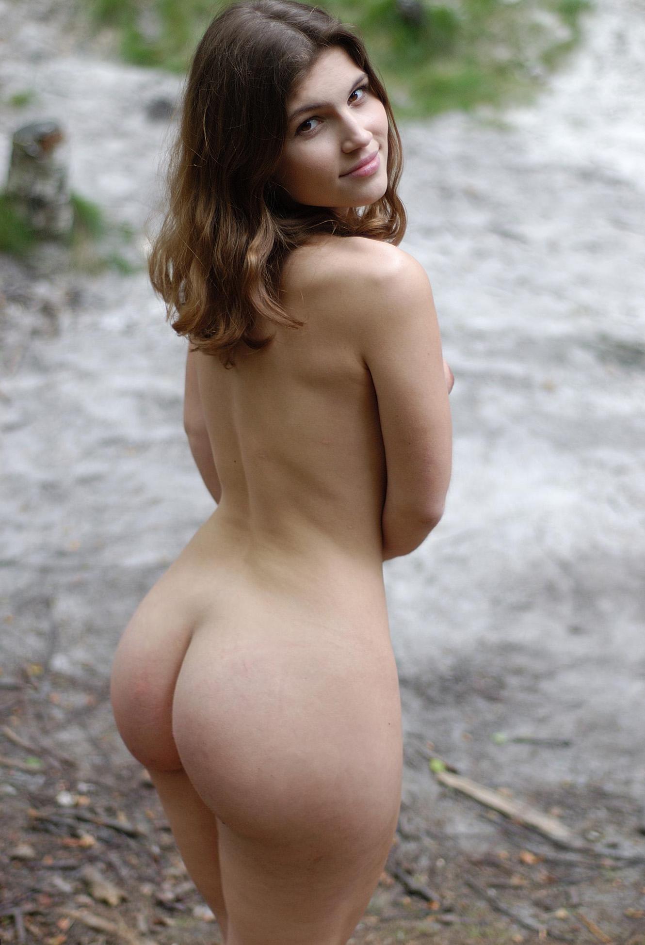 naked girl asses Outdoors