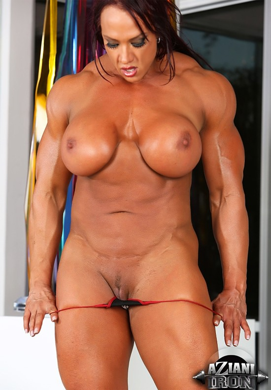 nude women Tall muscle
