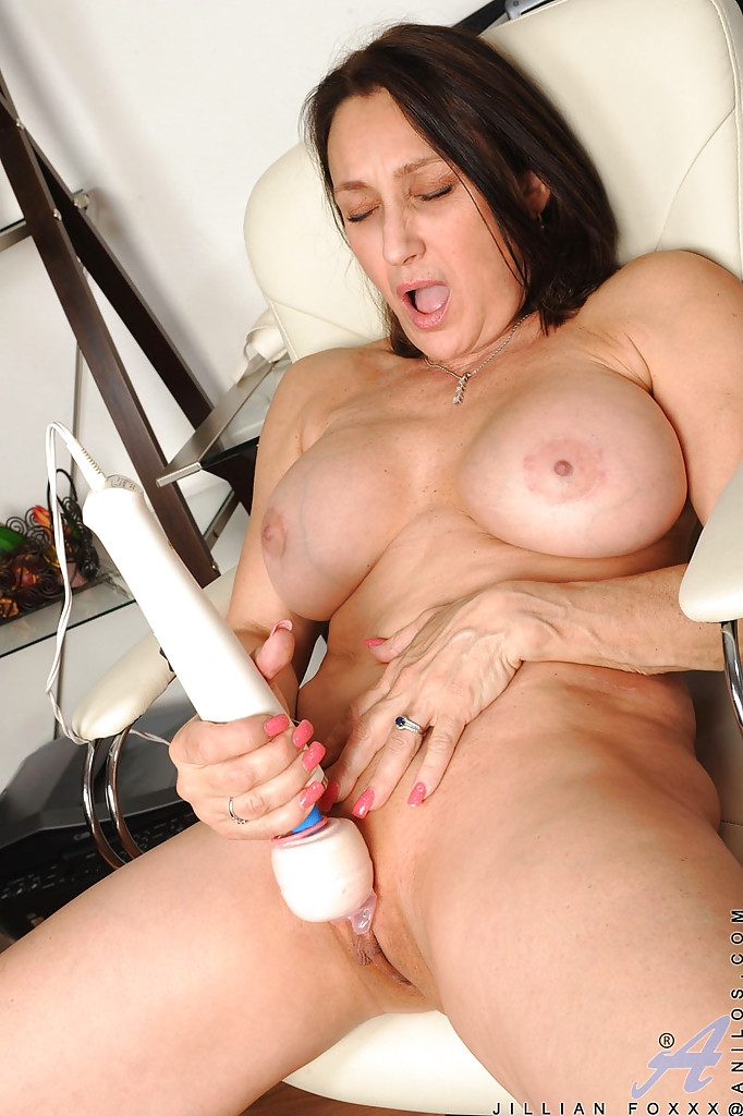 brunette clit Mature milf with big