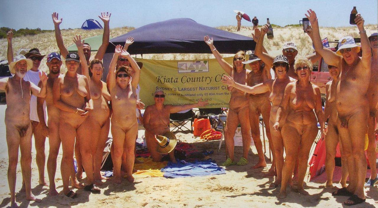 australia Nude mature free beach