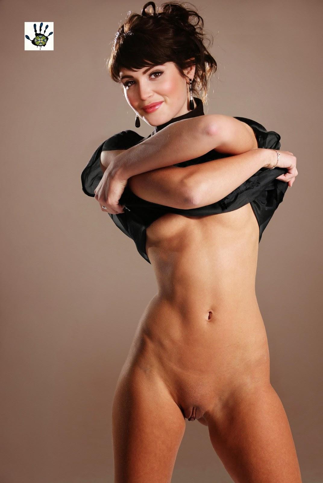 nude fakes arterton Gemma