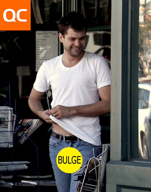 with bulges jeans big Men