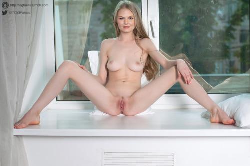 nude captions christensen Erika