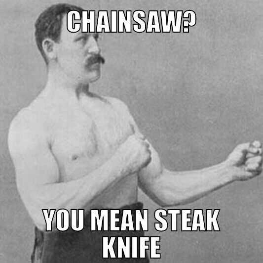 meme man Overly manly