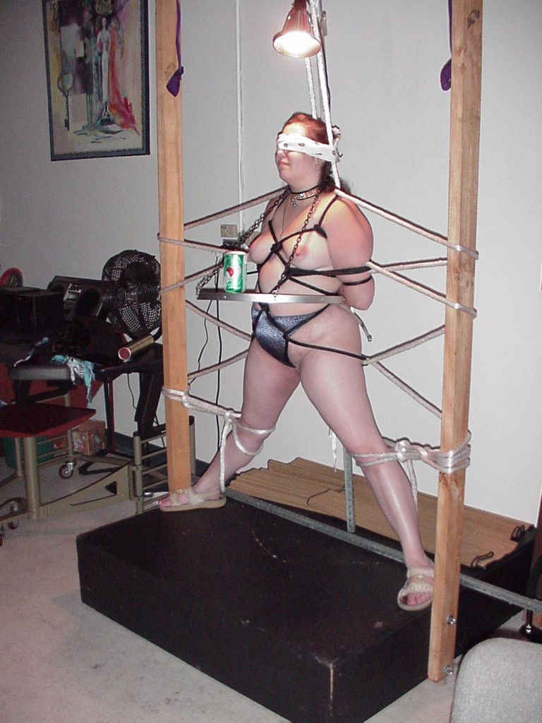 bondage furniture tied Sex