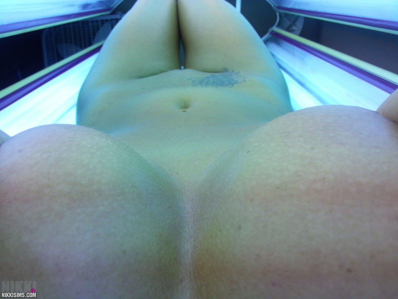 selfies Nikki sims nude