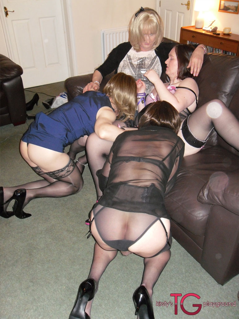 orgy woman British