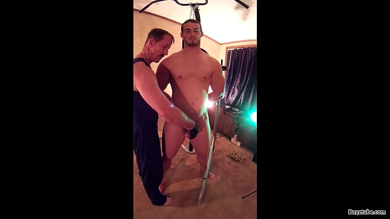 man muscle Naked russian