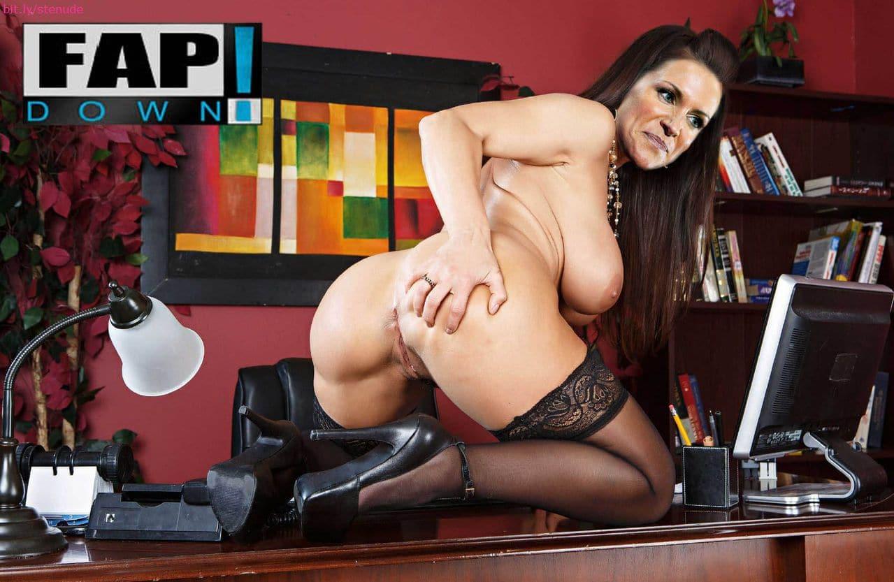fakes nude Stephanie mcmahon