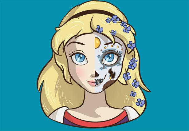 skull ariel Sugar