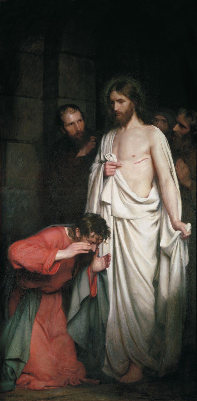 bloch christ Carl jesus