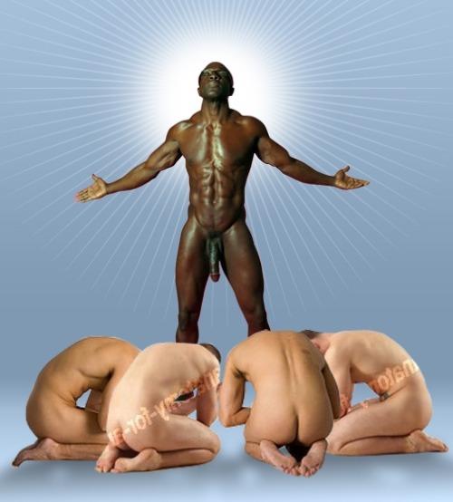 slaves Black sex gay male