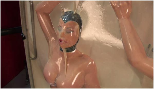 lesbian latex bondage Mistress