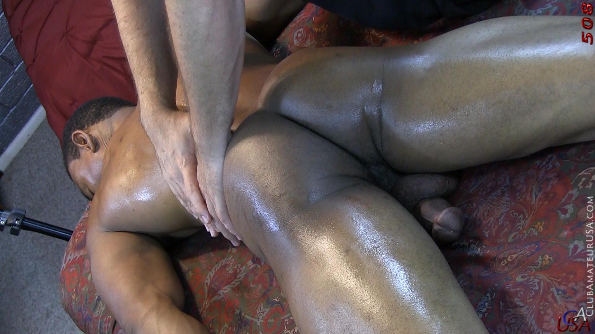 massage male Black gay