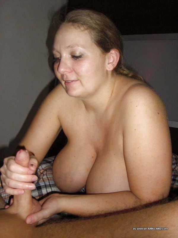 with big boobs Handjobs
