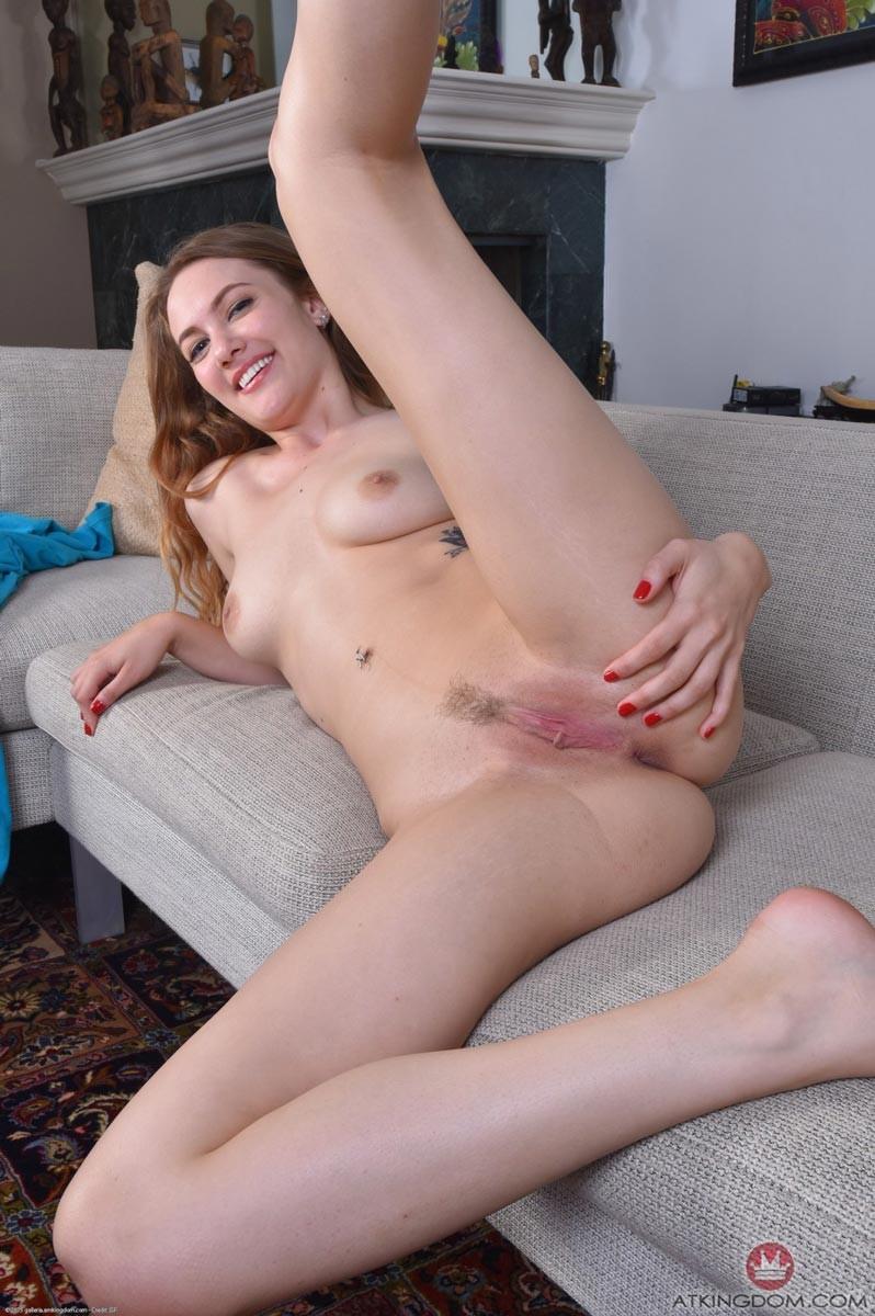 models Blonde nude lingerie