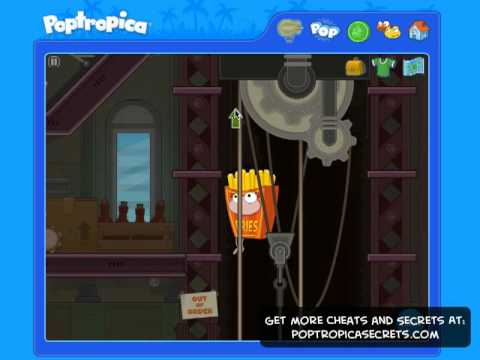 air conditioner poptropica is the Where on