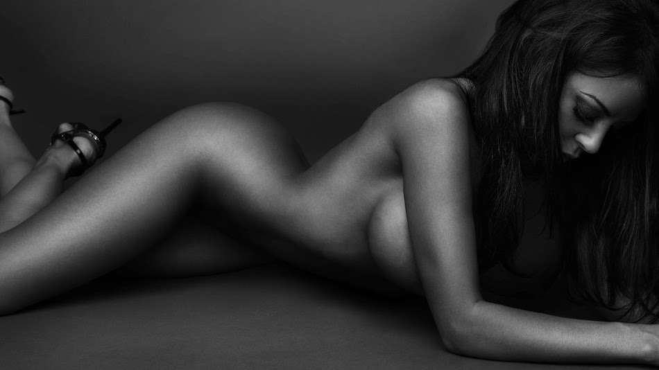 and white models Black nude
