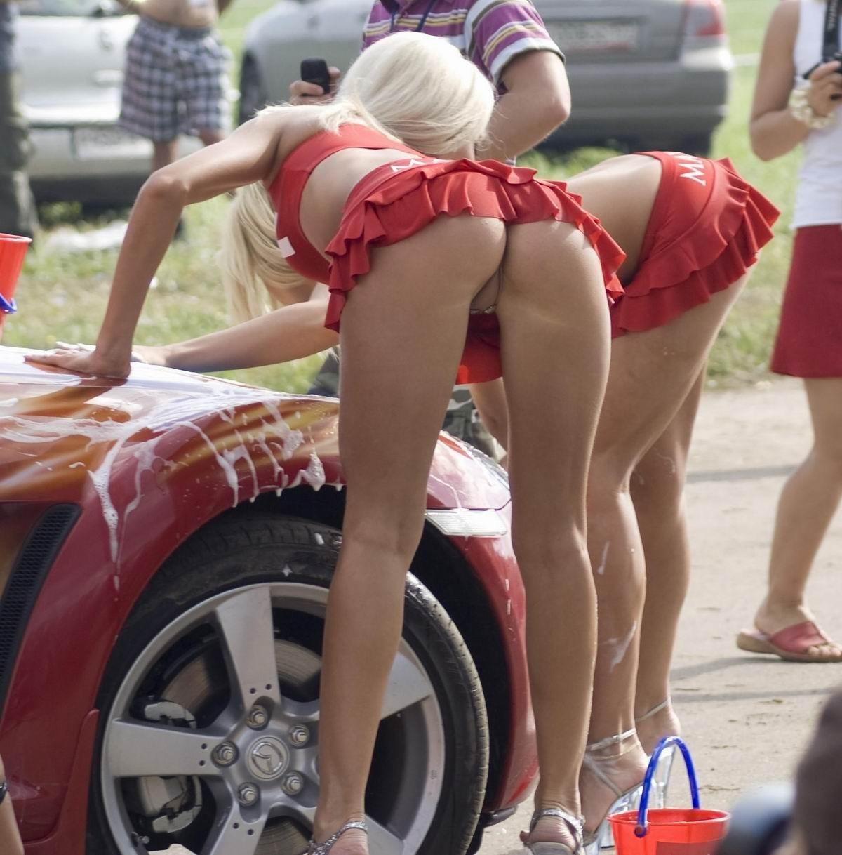 car panties Girl upskirt no