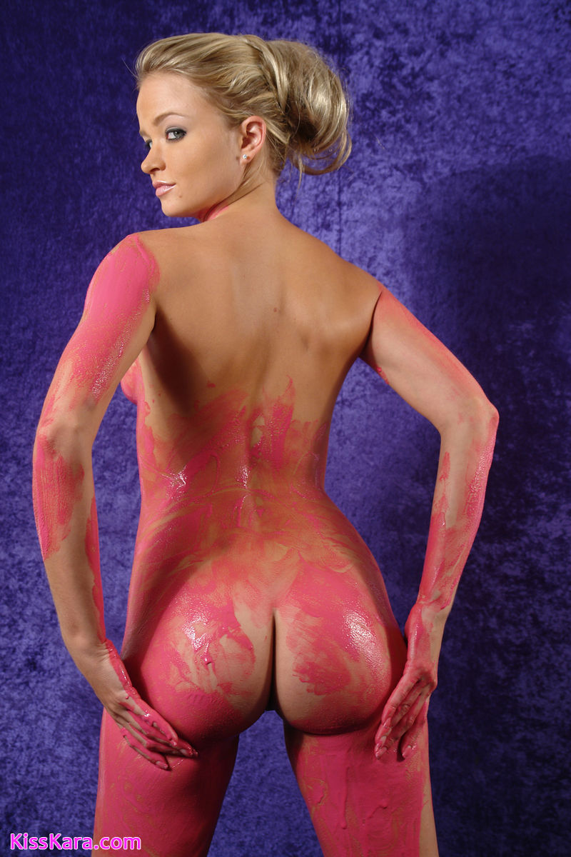 painting art Girl nude