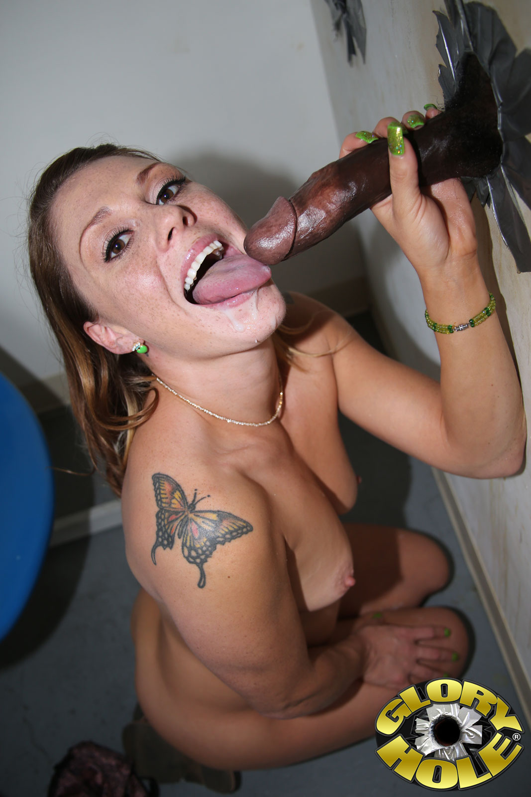 gloryhole Xxx interracial