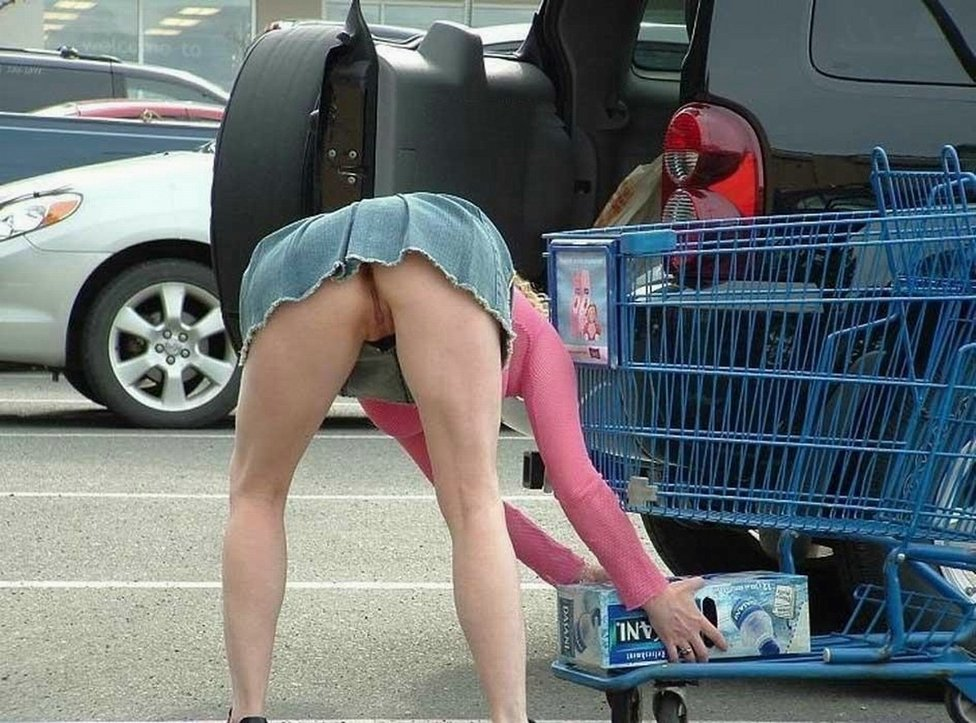 Think, that Voyeur upskirt at walmart theme, interesting