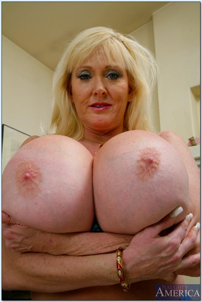 older Big women breasted