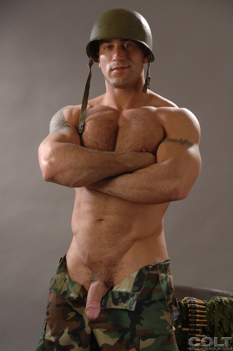 gay men military hot Sexy