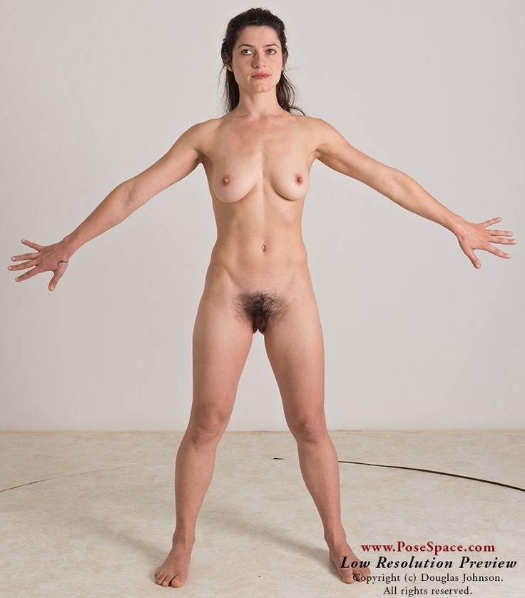 female poses Nude art model