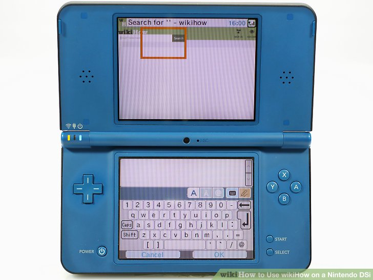internet Nintendo dsi