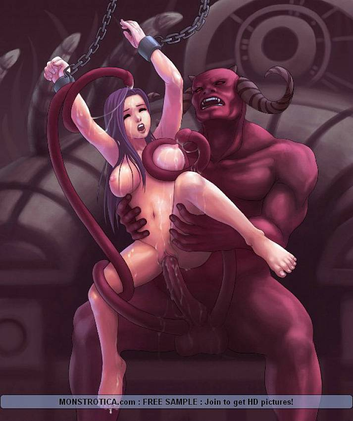 demon porn Anime girl