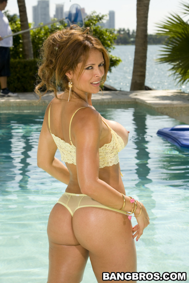 sex Monique fuentes ass