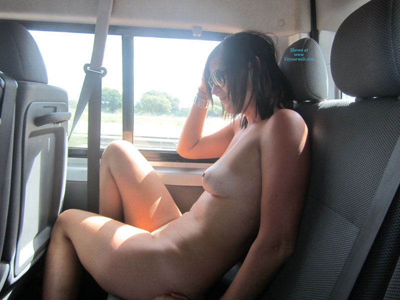 naked pussy car Passenger of seat