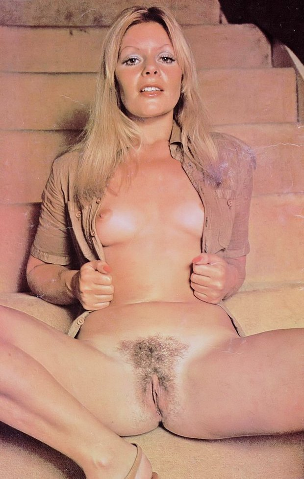 porn blonde Vintage pussy star hairy
