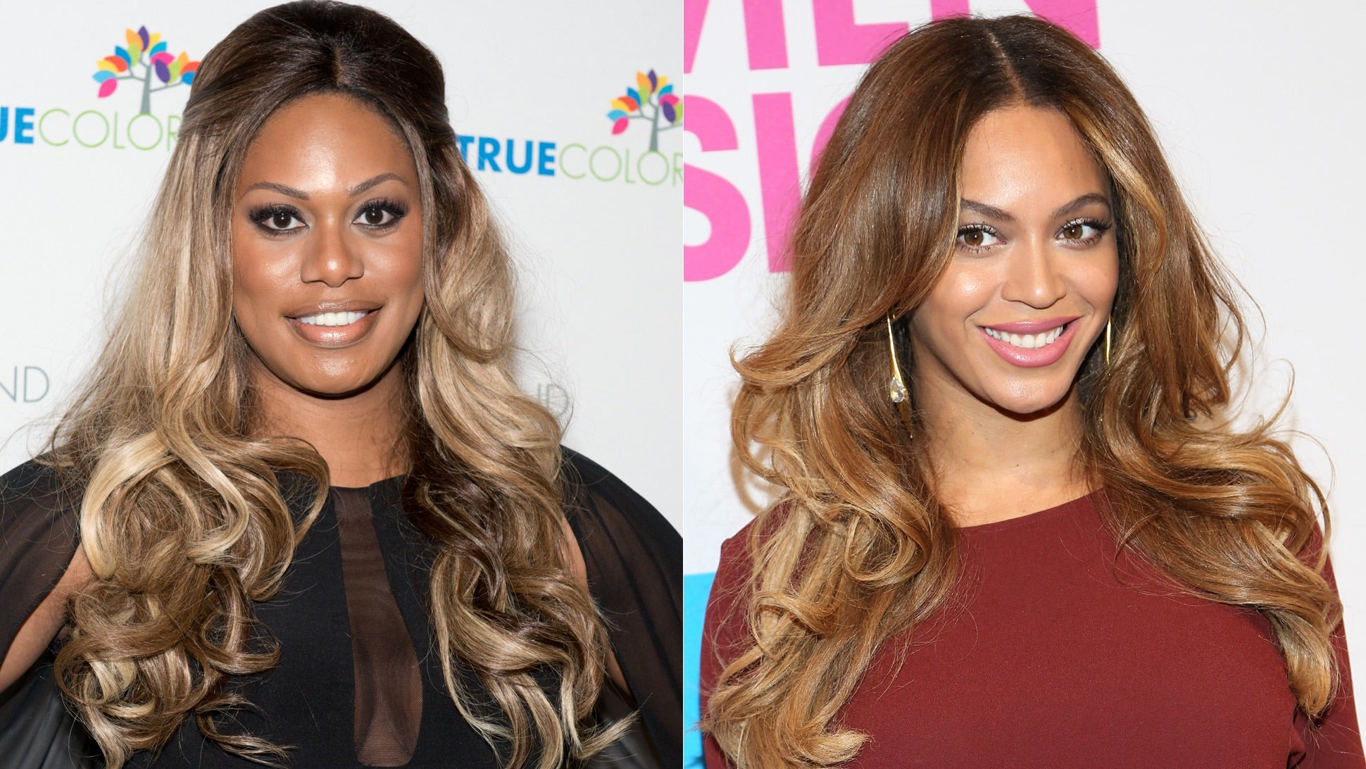 after before Laverne cox and