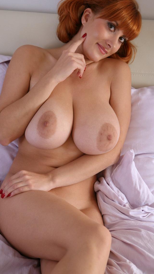 tits mature women Redhead big