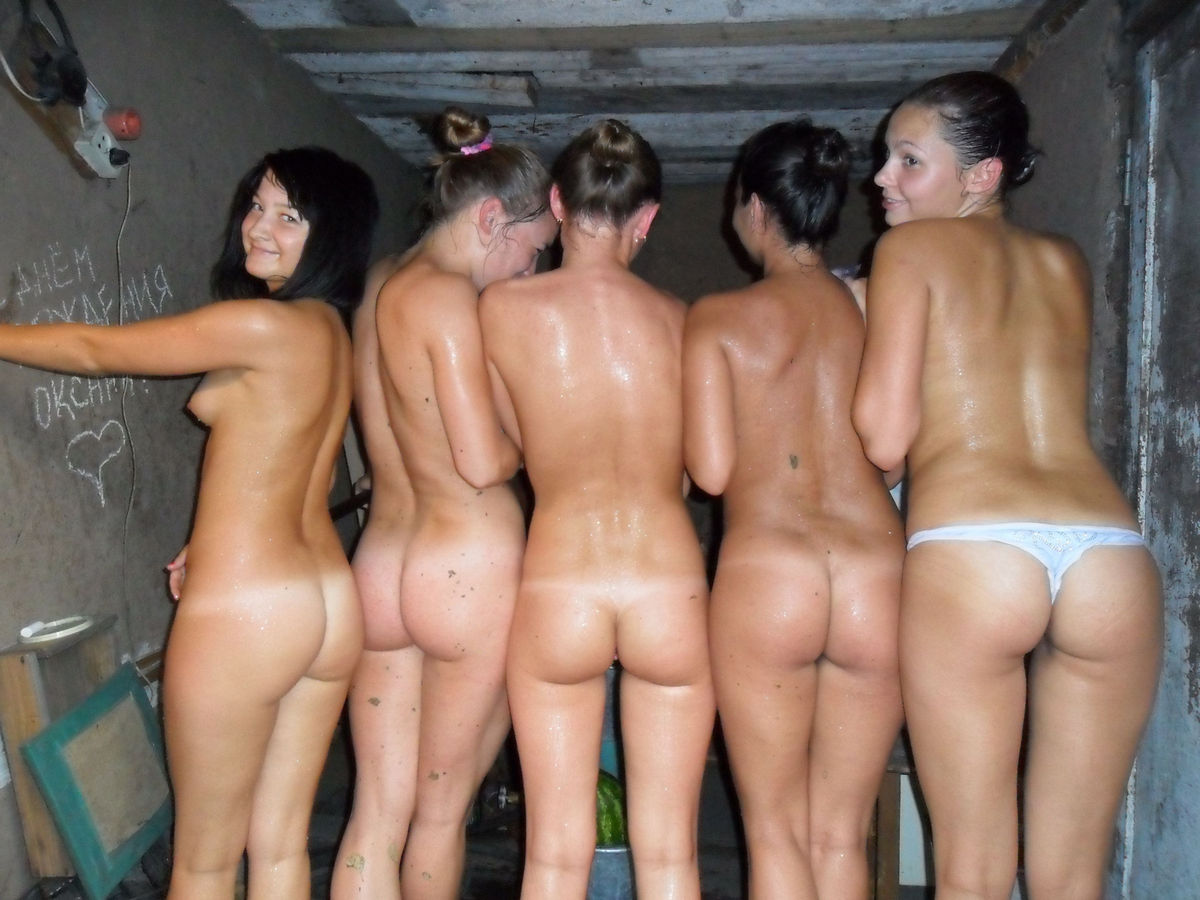 girls stacked Naked group pussy