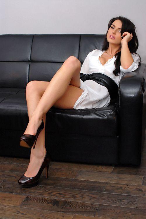legs stockings secretary Sexy nylons