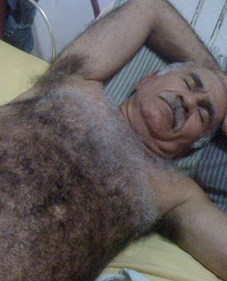 Hairy Grandpa Naked