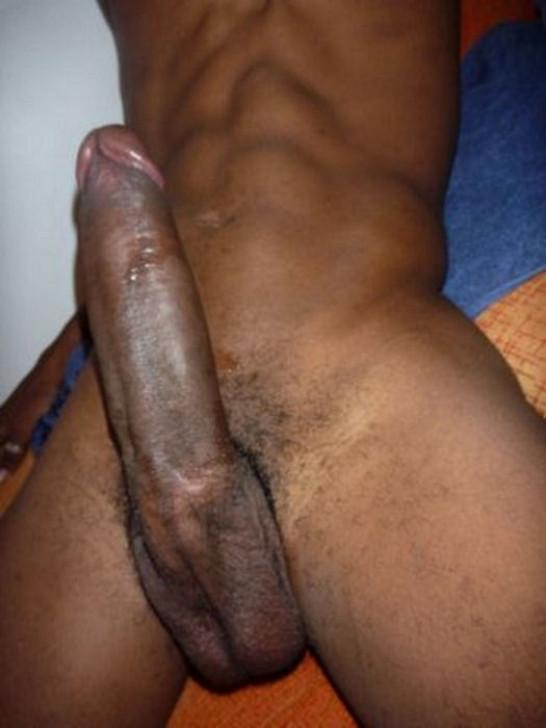 giant Black huge cock