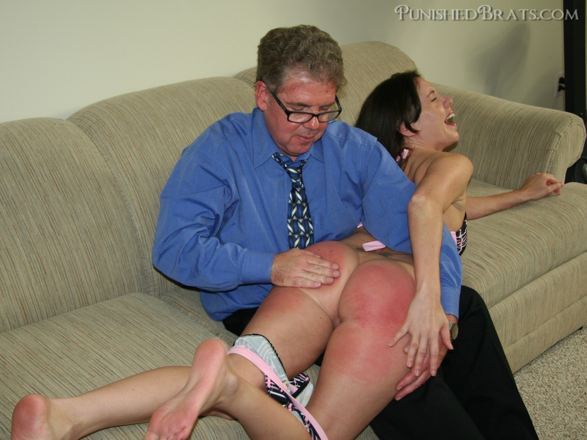 brats Riley punished