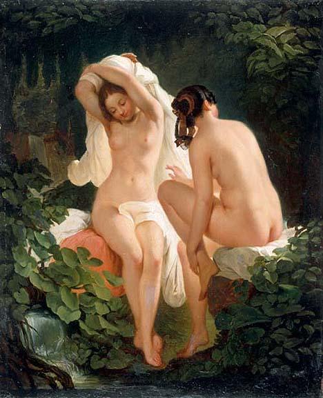nude German girls public