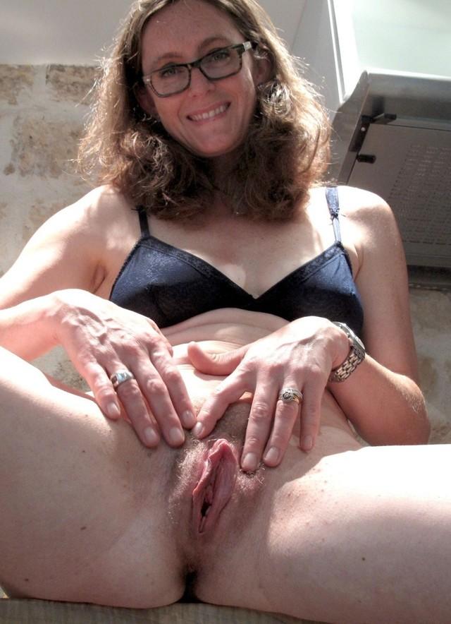 brunette clit Mature milf with big