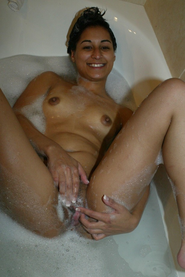 Teens getting wet and naked