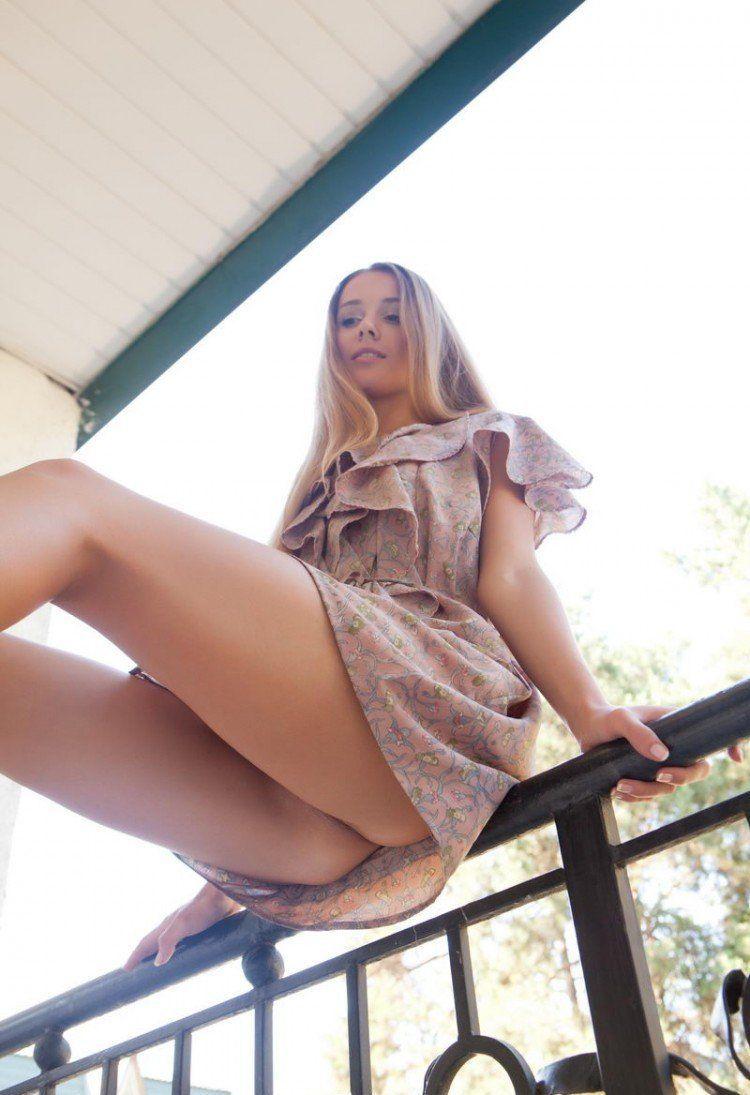 nice Hot ass panties upskirt girl